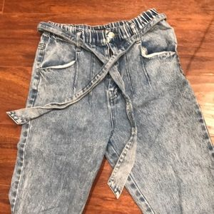 forever 21 high waisted acid wash jeans